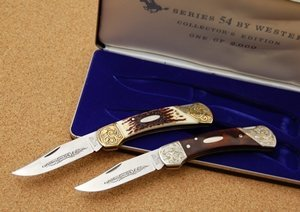 WESTERN POCKET KNIVES, LIMITED EDITION 541 & 542