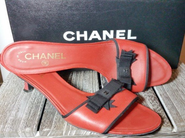 CHANEL LADIES MULES