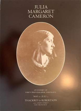 Julia Margaret Cameron, An Exhibit of Forty