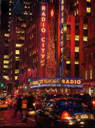 Radio City, by American Artist Davis Cone,