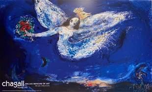 Marc Chagall, The Firebird Poster