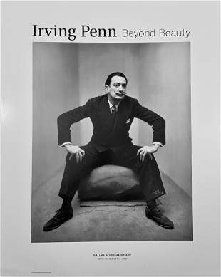 Salvador Dali by Irving Penn Poster