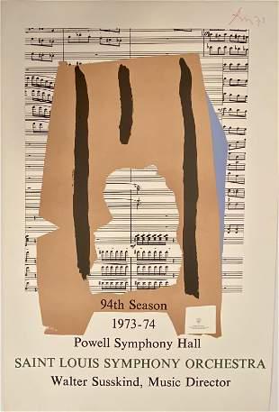 ROBERT MOTHERWELL, Powell Symphony Hall, Saint Louis
