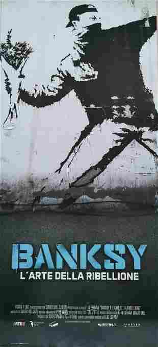 "Banksy, The Art of Rebellion"" Original Movie Poster"