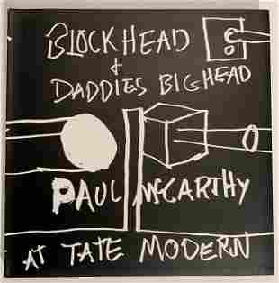 Paul McCarthy, Blackhead & Daddies Big Head, Tate Book