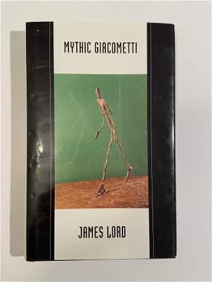 Alberto Giacometti, Rare Book