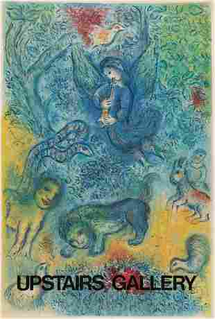 Marc Chagall, Gallery Stone Litho Poster 1974