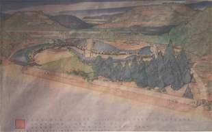 Frank Lloyd Wright Rare Poster, 1991