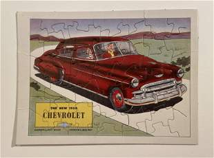 The New 1950 Chevrolet Puzzle