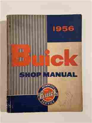Buick Shop Manual, 1956