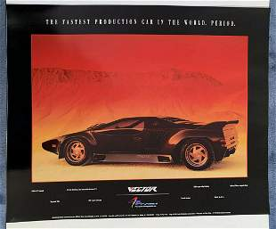 Original Vector W2 Factory Authorized Poster.