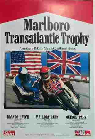 1981 Motorcycle Race Marlboro Transatlantic Trophy