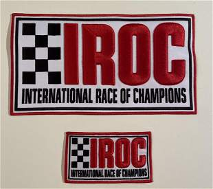 IROC SERIES Jacket Race Team Patches