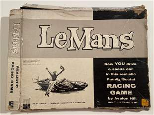 Le Mans Board Game