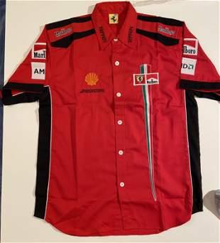 Ferrari Embroidered Team Shirt