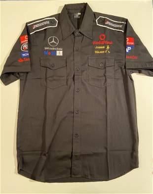 Mercedes McLaren Embroidered Team Shirt