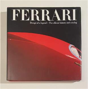Ferrari, Design of a Legend, Official Factory Book