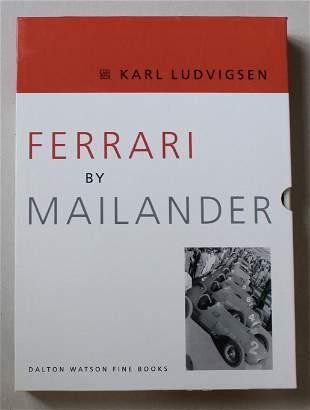 Ferrari By Mailander. by writer Karl Ludvigsen