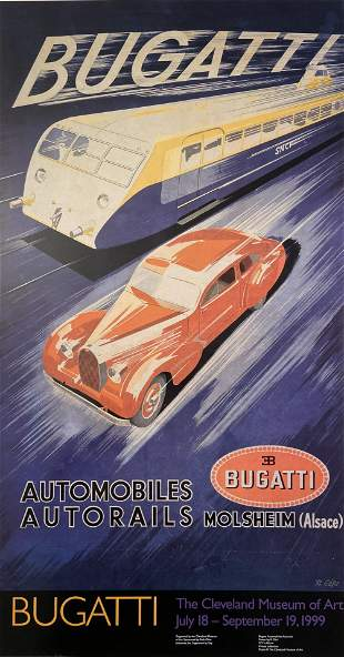 Bugatti, The Cleveland Museum of Art Official Poster