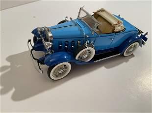 1932 Chevrolet Confederate Roadster (Blue) 1/24th Scale