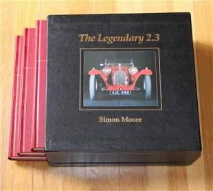 The Legendary 2.3 Alfa Romeo 8C2300 Cars, Set of books