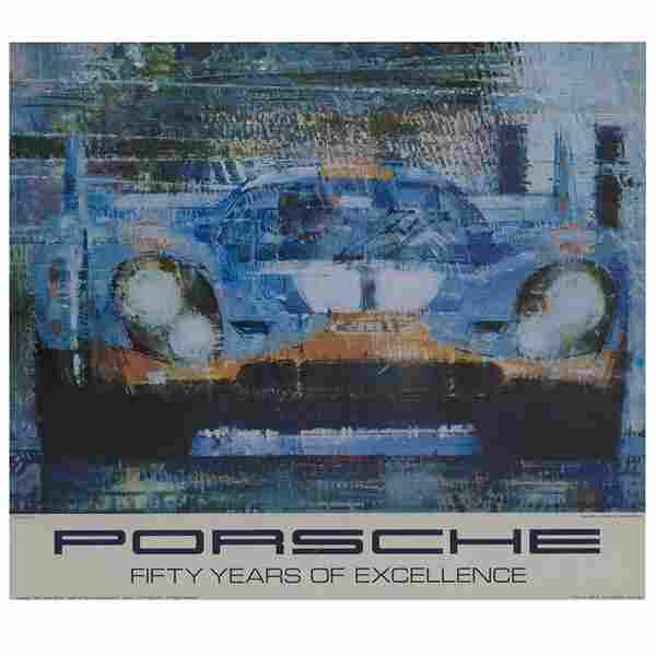 """""""Porsche, Fifty Years of Excellence, Porsche 917"""", A"""