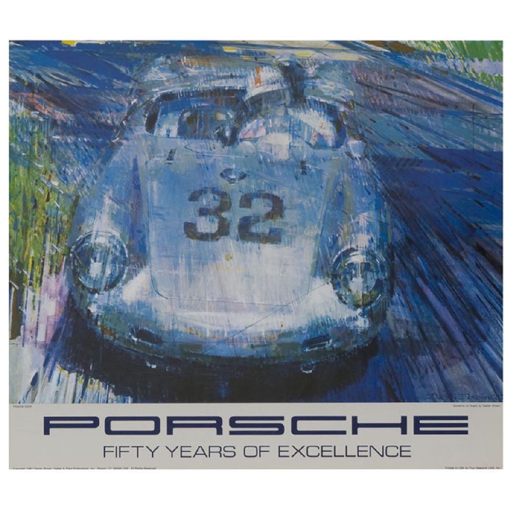 """""""Porsche, Fifty Years of Excellence, Porsche"""", A"""