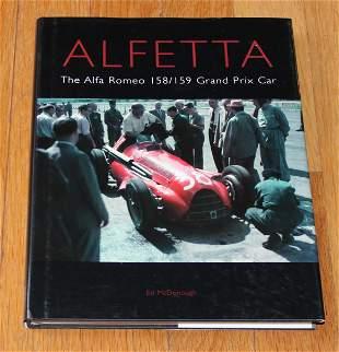 Alfa Romeo Alfetta 158 / 159 Grand Prix Race Car book