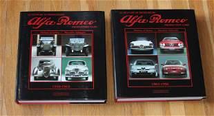 Alfa Romeo Production Cars Book SET 1910 - 1996