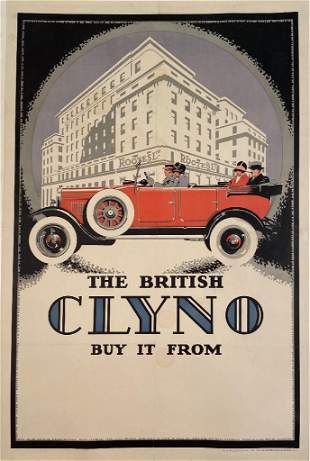 The British Clyno, Stone Lithographic Vintage