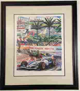 "Randy Owens, ""Fountain View"" Print LBGP"