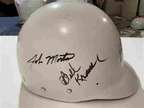 Shelby Bob Bondurant Signed Race Bell Hemet