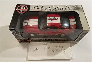 2007 Carroll Shelby signed GT-500 Mustang 1:18 Die Cast