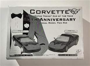 Chevrolet Corvette 45th Ann. promotional model set,