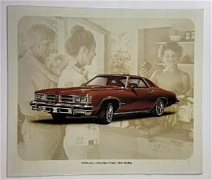 Chevrolet 1976 Pontiac LeMans Sport showroom display