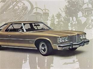 Chevrolet 1976 Pontiac Catalina Coupe showroom display
