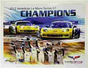 Corvette Racing 2012 America LeMans Champions Poster