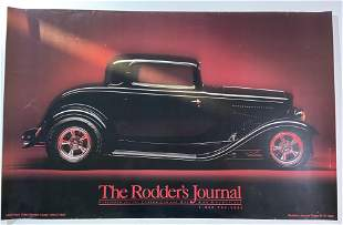 The Rodder's Journal,1932 Ford 3 window Coupe Poster,
