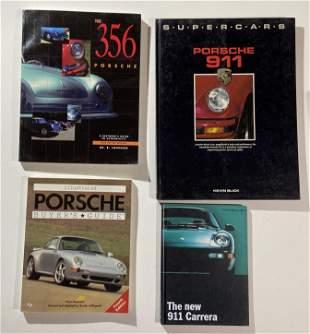 Porsche 356 and Porsche 911 and 911 Carrera books(4)
