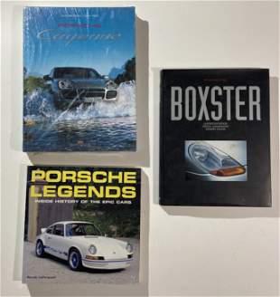 Porsche books, Porsche Cayenne, Boxster,and Porsche