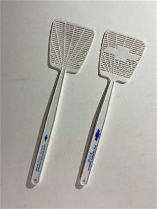 Two Chevrolet dealer fly swatters