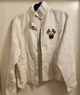 Vintage Wynn's Racing Jacket White