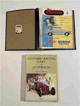 """""""Historic Racing Cars"""" in Australia by John B., and"""
