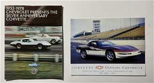 1953-1978 Chevrolet Corvette Silver Anniversary