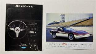 The Only One, Corvette by Chevrolet Vintage brochure