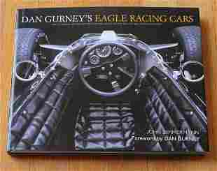 Signed Dan Gurney's Eagles Racing Cars major book