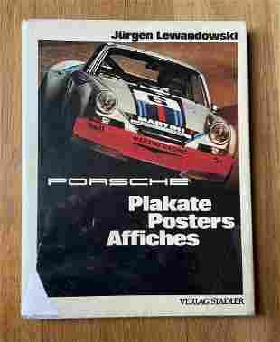 Porsche Posters Book Lewandowski Le Mans Targa Florio