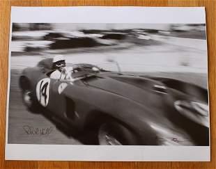 Phil Hill Signed Photo Ferrari 290 MM Mille Miglia 1957