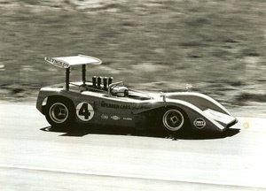 54: Pete Biro Untitled (Bruce McLaren Mosport-Can am)
