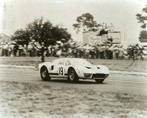 59: Albert Bochroch Untitled (#19 Ford GT-40)